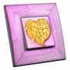 Interrupteur décoré Coeur d'Or
