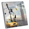 Interrupteur décoré New York