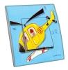 Interrupteur décoré Mon helicoptere L.FAYS