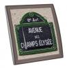 Interrupteur décoré Paris - Avenue des champs élysées