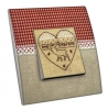 Interrupteur décoré Coeur de Cerf
