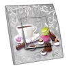 Interrupteur décoré  Chocolat mignardises - MARTINI