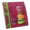 Interrupteur décoré  Macarons et feuillage - MARTINI