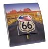 Interrupteur décoré  USA - Route 66