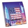 Interrupteur décoré  New York - City lights