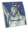 Interrupteur décoré  New York - Statue of Liberty
