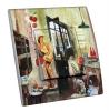 Interrupteur décoré  Atelier Collage - La Parisienne