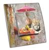 Interrupteur décoré  Atelier Collage - Bouddha