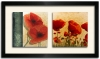 TABLEAU DUO -COQUELICOTS
