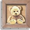 TABLEAU UNO 20X20  MAMAN OURS